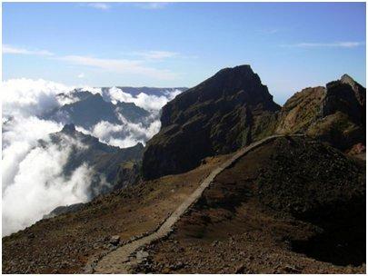 Madeira matkat - Pico das Torres vuori